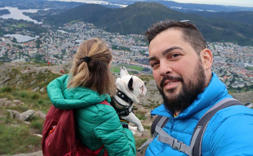 #J+2 – Gamin sur le mont Ulriken de Bergen