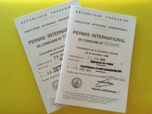 permis international